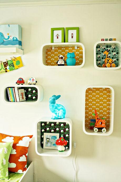 decoracion infantil estanterias