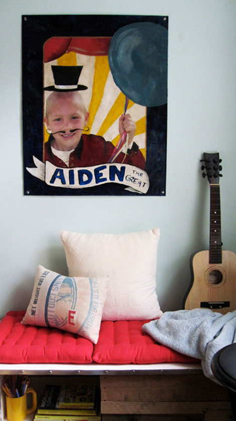 Habitación infantil cuadro