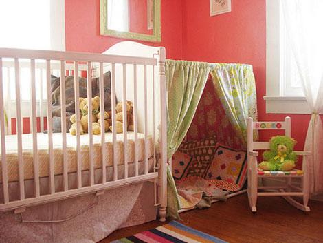 Habitacion infantil escondite