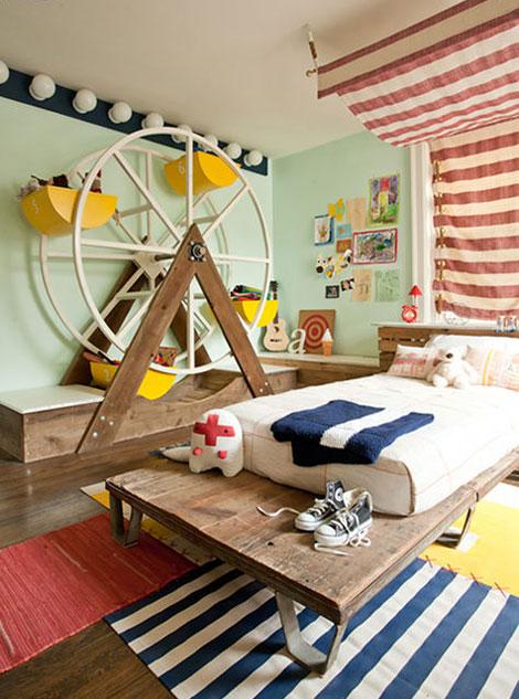 Habitaciones infantiles inspiradas en el circo - Habitaciones infantiles decoracion ...