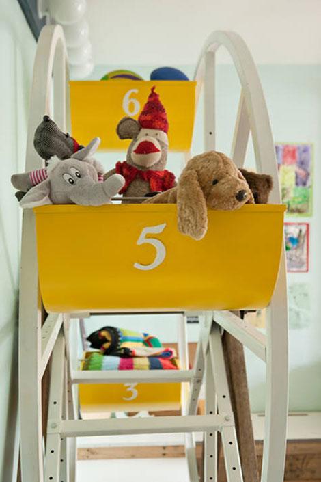 Habitaciones infantiles juguetes