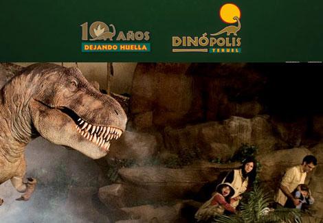 Dinópolis, el parque de los dinosaurios 1