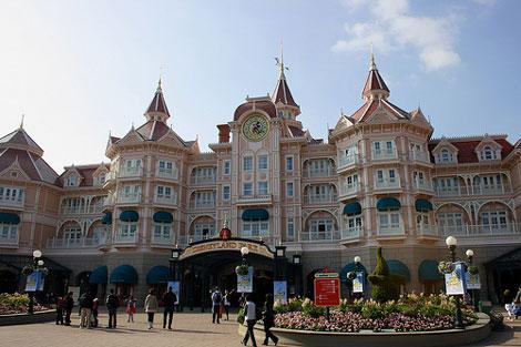 Hospedarse en Disneyland París