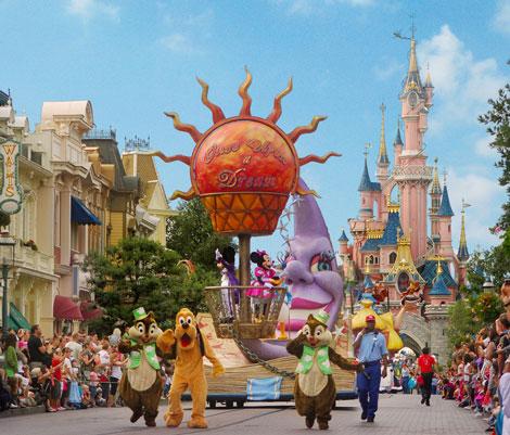 Shows en Disneyland París