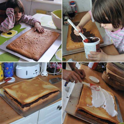 decoracin tarta de cumpleaos casera