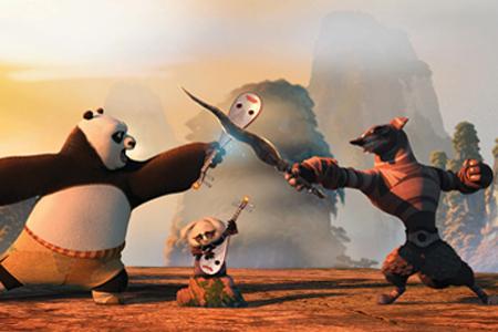 kung fu Panda 2 actividades