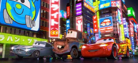 Cars 2 pelicula
