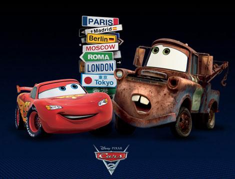 Cars 2, cine para niños Pixar