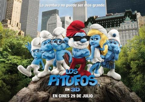 Los Pitufos película en 3D