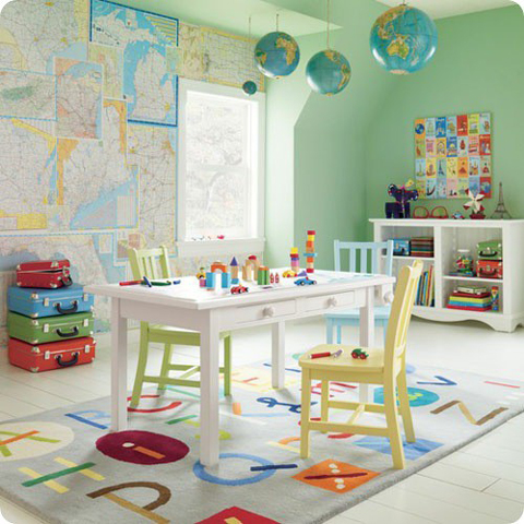 Decorar con mapas