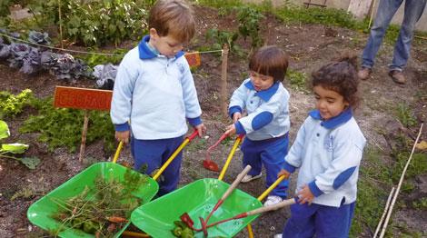 La huerta de carlos granja y actividades para ni os for Actividades para jardin infantil