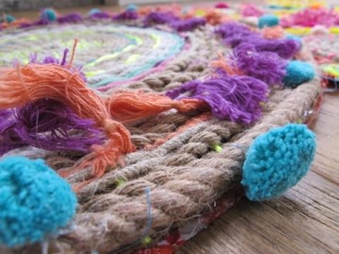 alfombra infantil cuerdas