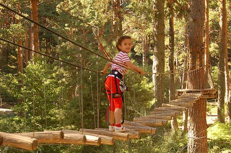 Parques temáticos para niños y adultos