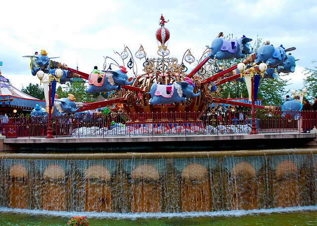 Dumbo disneyland paris
