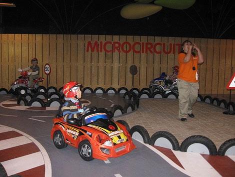 Juegos infantiles en Micrópolix