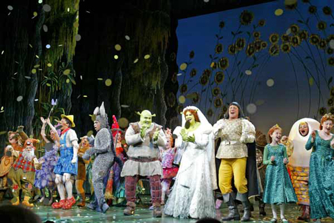 Shrek el musical Madrid