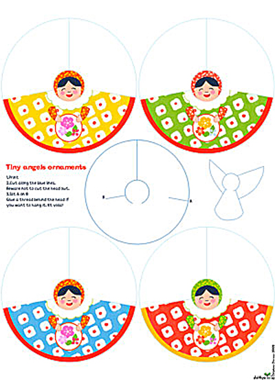 Paper Angel Patterns to Print