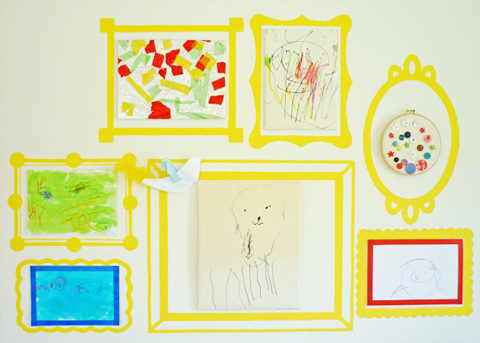 manualidades infantiles cuadros