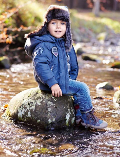 Benetton niños colección invierno 2011