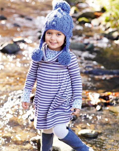 benetton niñas otoño invierno 2011