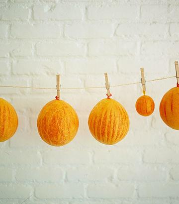 Calabazas de Halloween paso a paso