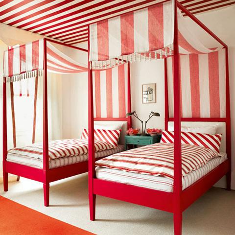 camas para niños con dosel
