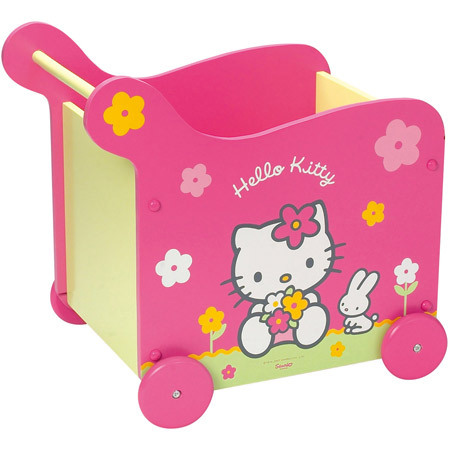 cofre juguetes hello kitty