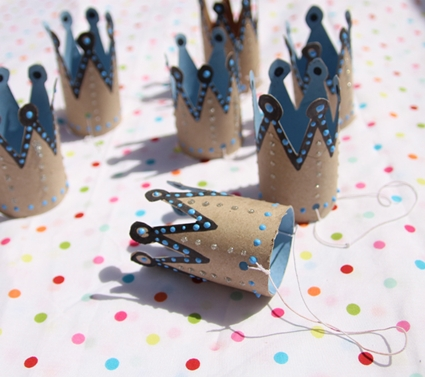 coronas de papel