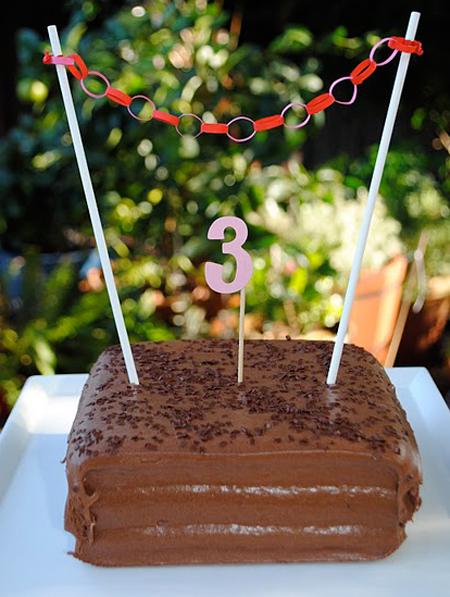 Decoración tartas cumpleaños