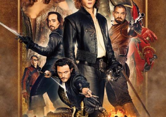 Los tres mosqueteros película 2011