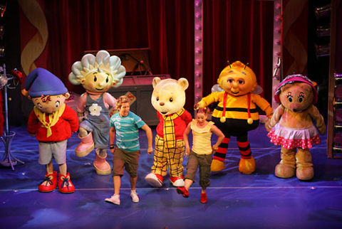 Noddy espectaculo infantil