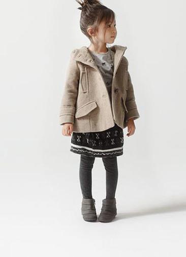 d5d1e763d Zara Kids, ¿cómo vestirá Zara a los niños este invierno ...