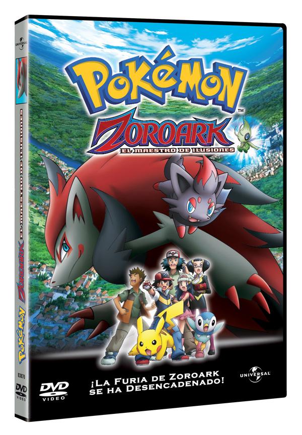 Nuevas películas Pokémon en DVD