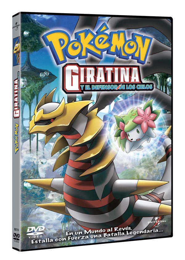 Películas Pokémon en DVD