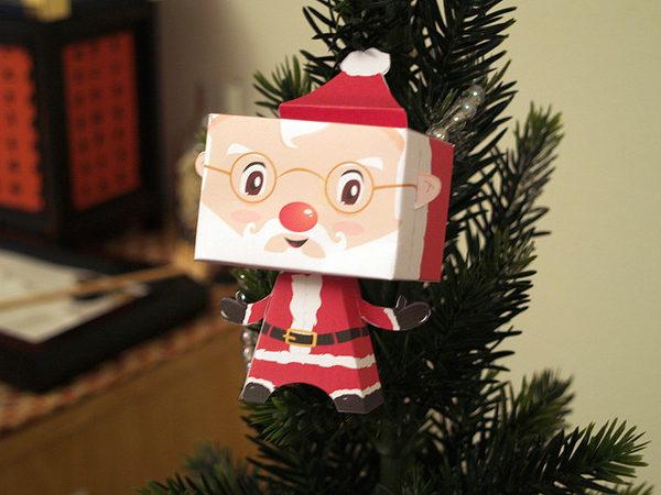 Adorno Navidad Papá Noel