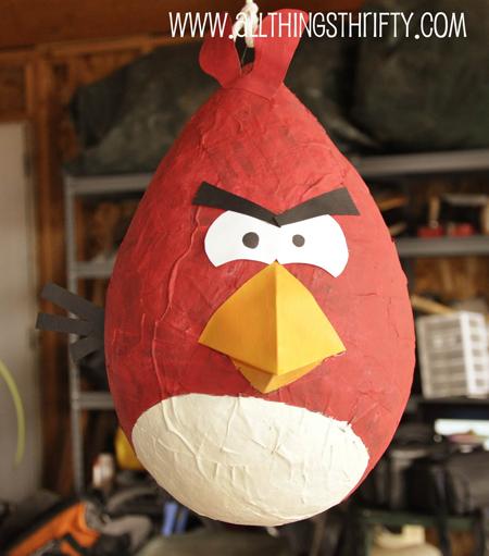 Piñata de cumpleaños de Angry Birds 6