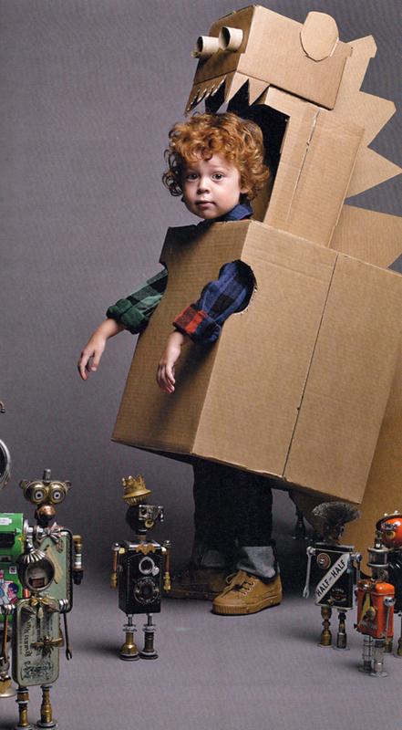Disfraces de cartón