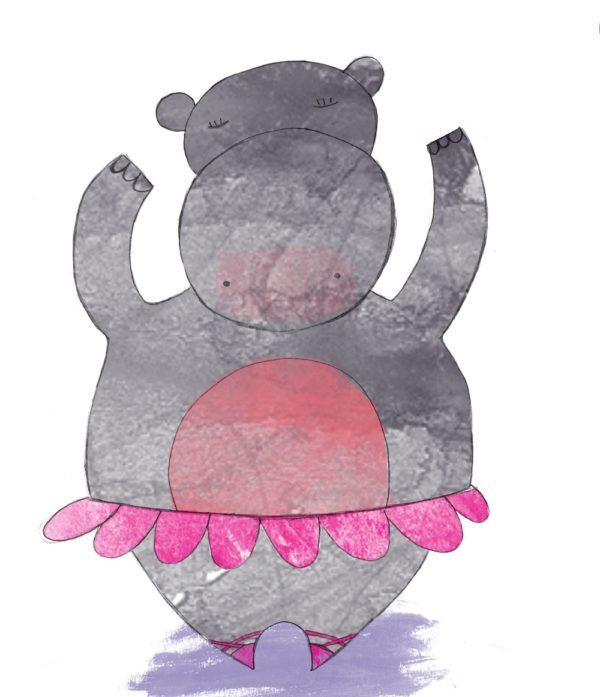 Valentin, el hipopótamo bailarín