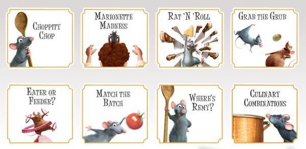 Juegos Ratatouille