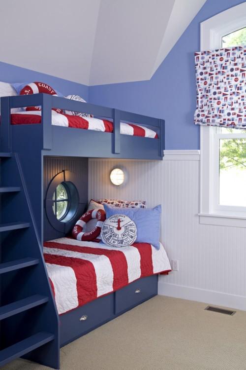Literas para ni os 10 ideas para la habitaci n infantil for Decoracion de espacios para ninos