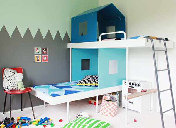 literas para ni os 10 ideas para la habitaci n infantil. Black Bedroom Furniture Sets. Home Design Ideas