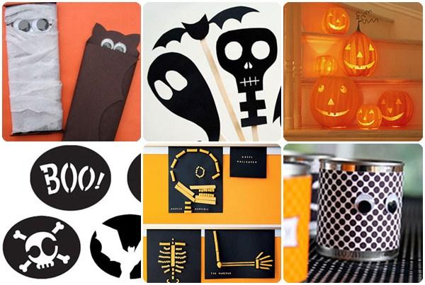 6 manualidades fciles para Halloween Pequeocio