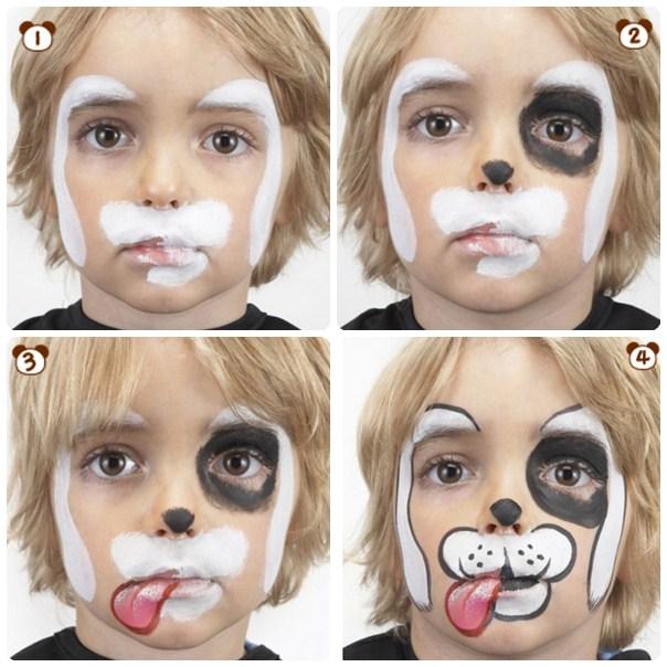 Maquillaje infantil paso a paso