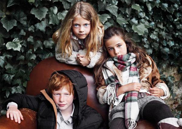 Massimo Dutti niños invierno 2011