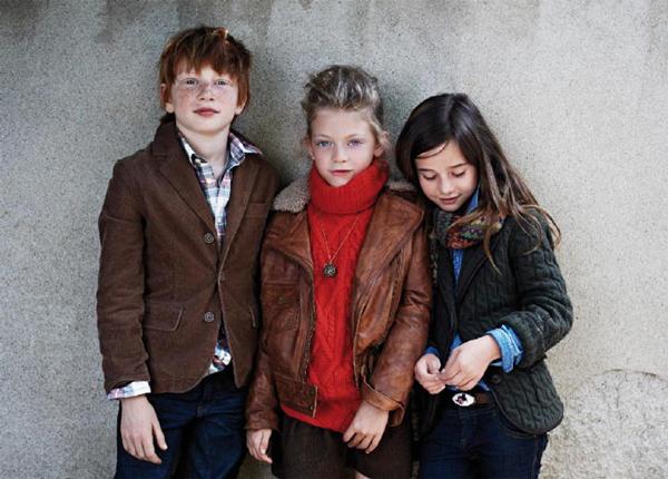 Massimo Dutti ropa niños 2011