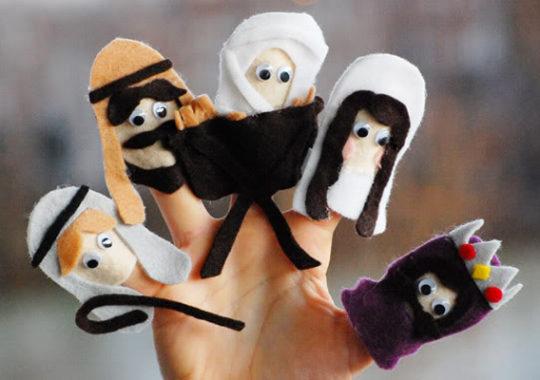 Belén marionetas