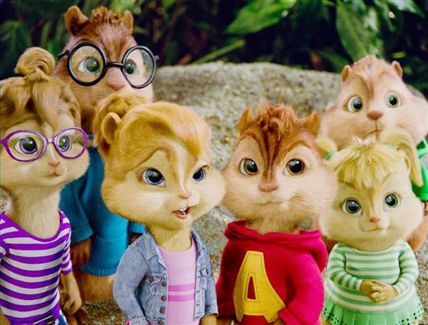 Alvin y las Ardillas 3 cine infantil