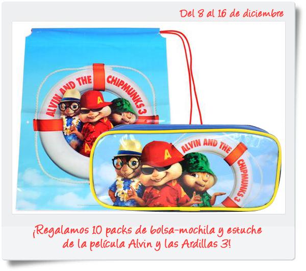 Alvin y las Ardillas 3 regalos