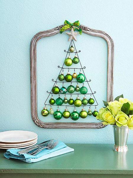 arbol de navidad de bolas - Arboles De Navidad Originales