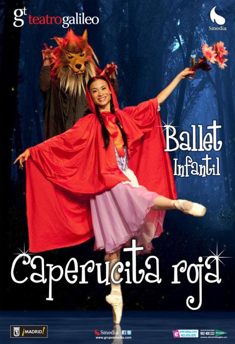 Ballet infantil Caperucita Roja